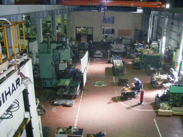 一宮工場南側